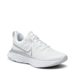Nike Взуття Nike React Infinity Run Fk 2 CT2423 102 White/Metallic Silver