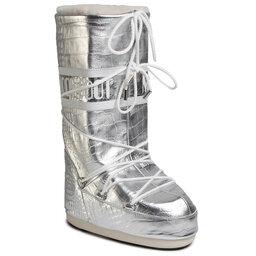 Moon Boot Снігоходи Moon Boot Classic 50 Crocodile 14025600001 Silver