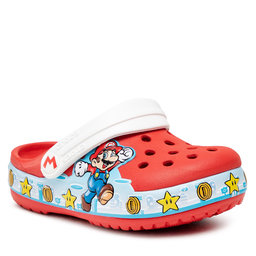 Crocs Šlepetės Crocs Fl Super Mario Lights Clog 206438 Flame