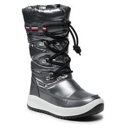 Tommy Hilfiger Sniego batai Tommy Hilfiger Snow Boot T3A6-32035-1240 M Dark Silver 918