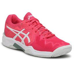 Asics Batai Asics Gel-Resolution 8 Clay Gs 1044A019 Pink Cameo/White 702