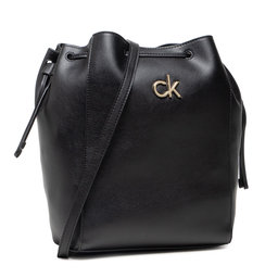 Calvin Klein Rankinė Calvin Klein Drawstring Bucket Bag K60K608176 BAX
