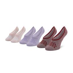 Vans Moteriškų pėdučių komplektas (3 poros) Vans Cmarlc VN0A49Z9ZB21 r.36,5-41 Primary M Chalk Violet