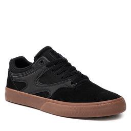 DC Laisvalaikio batai DC Kalis Vulc ADYS300569 Black/Black//Gum (Kkg)