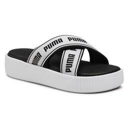 Puma Шльопанці Puma Platform Slide Tape 380677 01 Puma White/Puma Black