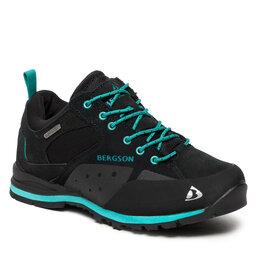 Bergson Трекінгові черевики Bergson Soira Low Stx Black/Mint