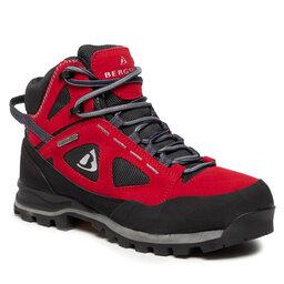 Bergson Трекінгові черевики Bergson Kakka Mid Stx Red/Black