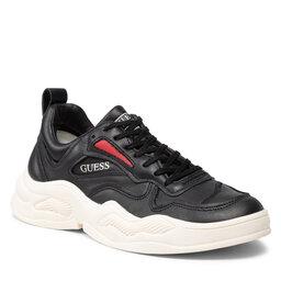 Guess Laisvalaikio batai Guess FMBAS8 LEA12 BLACK