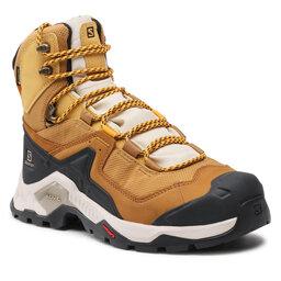 Salomon Трекінгові черевики Salomon Quest Element Gtx GORE-TEX 414573 27 V0 Cumin/Bleached Sand/Saffron