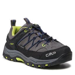 CMP Turistiniai batai CMP Kids Rigel Low Trekking Shoes Wp 3Q13244 Graffite/Marine 35UD