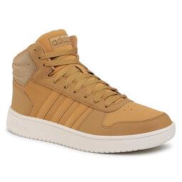 adidas Взуття adidas Hoops 2.0 Mid FW3516 Camel