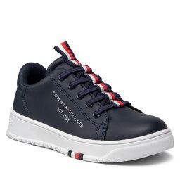 Tommy Hilfiger Laisvalaikio batai Tommy Hilfiger Low Cut Lace Up Sneaker T3B4-32052-0193 M Blue 800