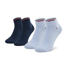 Tommy Hilfiger Vyriškų trumpų kojinių komplektas (2 poros) Tommy Hilfiger 342025001 Light Blue 101