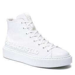 KARL LAGERFELD Снікерcи KARL LAGERFELD KL52255 01W White Lthr/Mone
