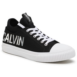 Calvin Klein Jeans Кеди Calvin Klein Jeans Ivanco B4S0698 Black/Silver