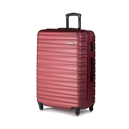 Wittchen Велика тверда валіза Wittchen 56-3A-313-31 Бордовий