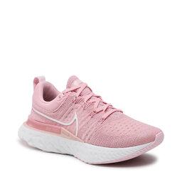 Nike Взуття Nike React Infinity Run Fk 2 CT2423 600 Pink Glaze/White/Pink Foam
