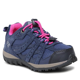 Columbia Turistiniai batai Columbia Childrens Redmond Waterproof BC2857 Bluebell/Pink Ice