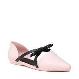 Melissa Туфлі Melissa Pointy Stripe Ad 33321 Pink/Black 51662