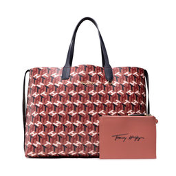 Tommy Hilfiger Rankinės Tommy Hilfiger Iconic Tommy Tote Monogram AW0AW10766 ORG