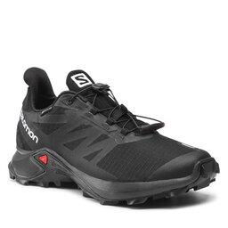 Salomon Batai Salomon Supercross 3 Gtx GORE-TEX 414535 29 W0 Black/Black/Black