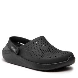 Crocs Шльопанці Crocs Literide Clog 204592 Black/Slate Grey
