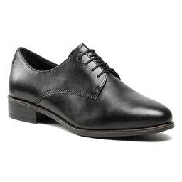 Tamaris Оксфорди Tamaris 1-23303-26 Black Leather 003
