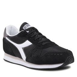 Diadora Laisvalaikio batai Diadora Simple Run 101.173745 C3485 Black/Storm Gray