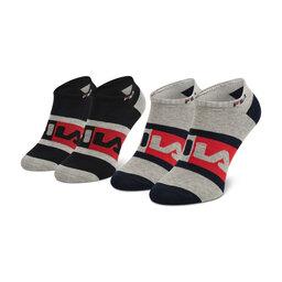 Fila Набір 2 пар низьких шкарпеток unisex Fila Calza Invisibile F9623 Grey 400