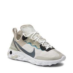 Nike Взуття Nike React Element 55 RM CU1466 200 Stone/Cerulean/Light Bone