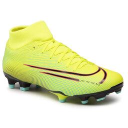 Nike Batai Nike Superfly 7 Academy Mds Fg/Mg BQ5427 703 Lemon Venom/Black/Aurora Green
