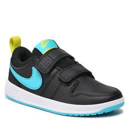Nike Batai Nike Pico 5 (PSV) AR4161 006 Black/Chlorine Blue
