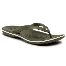 Crocs В'єтнамки Crocs Crocband Flip 11033 Army Green