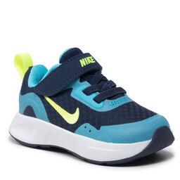 Nike Batai Nike Wearallday (TD) CJ3818 400 Midnight Navy/Volt/Balric Blue