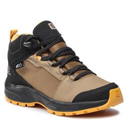 Salomon Трекінгові черевики Salomon Outward Cswp J 412849 09 W0 Safari/Phantom/Warm Apricot