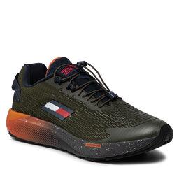 Tommy Hilfiger Laisvalaikio batai Tommy Hilfiger Ts Trail 2 FD0FD00024 Camo Green MR8