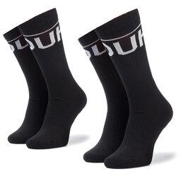 Hugo Набір 2 пар високих чоловічих шкарпеток Hugo 2P Qs Rib Logo Cc 50401985 1
