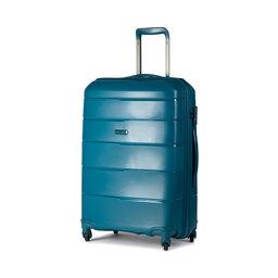 Puccini Середня тверда валіза Puccini Bahamas PP016B 5A Teal