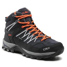 CMP Трекінгові черевики CMP Rigel Mid Trekking Shoe Wp 3Q12947 Antracite/Flash Orange 56UE