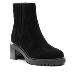 Tommy Hilfiger Aulinukai Tommy Hilfiger Th Outdoor Mid Heel Boot FW0FW05940 Black BDS