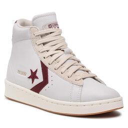 Converse Laisvalaikio batai Converse Pro Leather Hi 171607C White/Deep Bordeaux/String