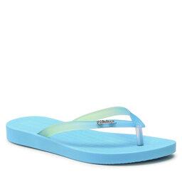 Melissa Šlepetės per pirštą Melissa Sun Flip Flop Ad 33493 Blue/Clear 51915