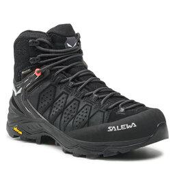 Salewa Turistiniai batai Salewa Ws Alp Trainer 2 Mid Gtx GORE-TEX 61383-0971 Black/Black