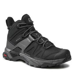 Salomon Turistiniai batai Salomon X Ultra 4 Mid Gtx GORE-TEX 412934 26 V0 Black/Magnet/Pearl Blue