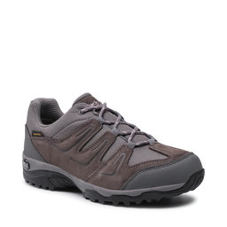 Jack Wolfskin Трекінгові черевики Jack Wolfskin Traction 2 Texapore Low W 4033991 Tarmac Grey/Dark Steel