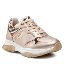 Tommy Hilfiger Laisvalaikio batai Tommy Hilfiger Low Cut Lace-Up Sneaker T3A4-31174-1243 M Rose Gold 341