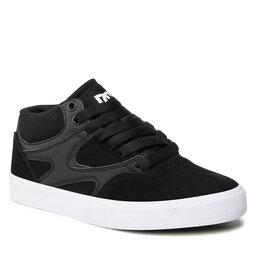 DC Laisvalaikio batai DC Kalis Vulc Mid ADYS300622 Black/Black/White (XKKW)