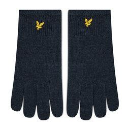 Lyle & Scott Чоловічі рукавички Lyle & Scott Racked Rib Gloves GL304CL Dark Navy Z271