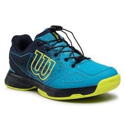 Wilson Batai Wilson Kaos Junior Ql WRS327910 Barr Reef/Navy Blazer/Lime Pop
