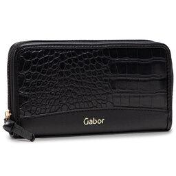 Gabor Великий жіночий гаманець Gabor 8557.105 Croco Black